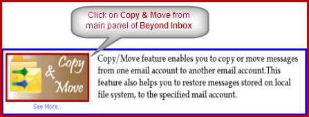 copy move email in imap account